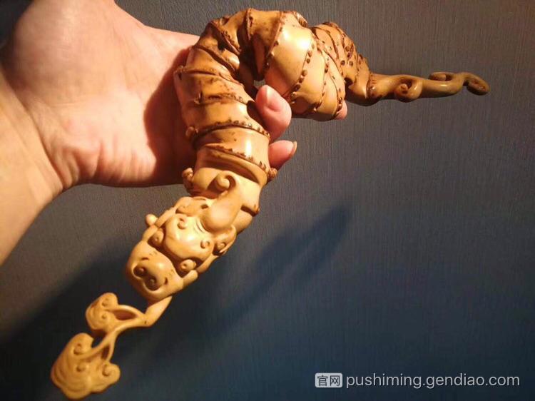 一组有意思的竹根雕