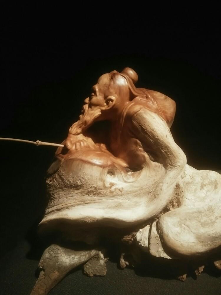 王穿石根雕艺术(一)