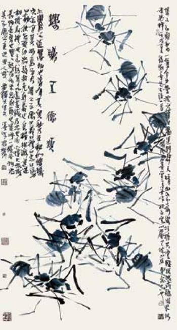 上善若蚁——陈训勇的独特艺术符号