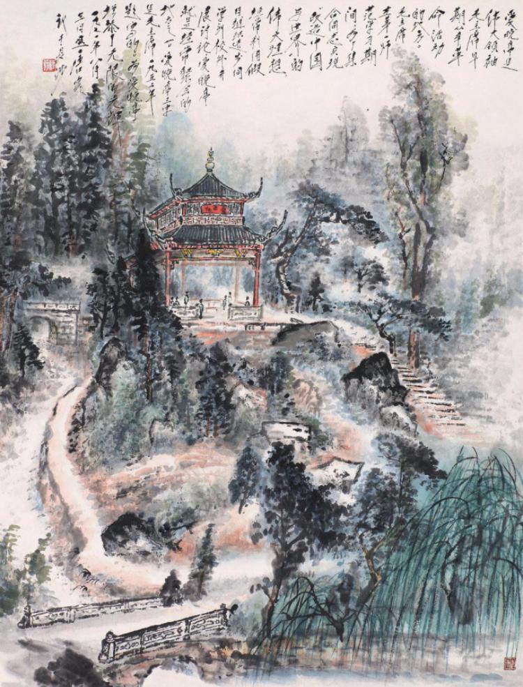 唐云 山水画欣赏
