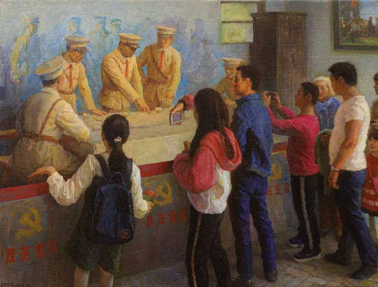 昔日红色苏区 今日投资热土——庆祝中国共产党成立 100 周年美术作品展