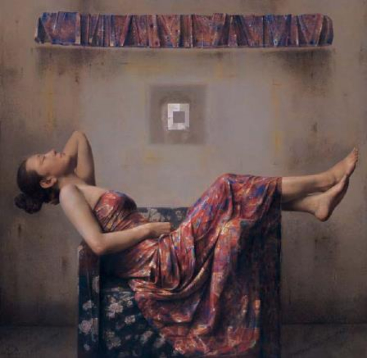 """罗文勇:以""""视知觉""""理论指导下的画画是件愉快的事情"""