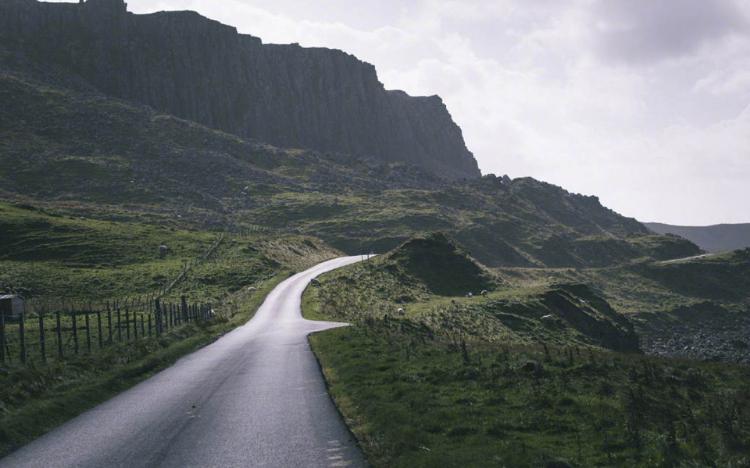 苏格兰天空岛清新风景