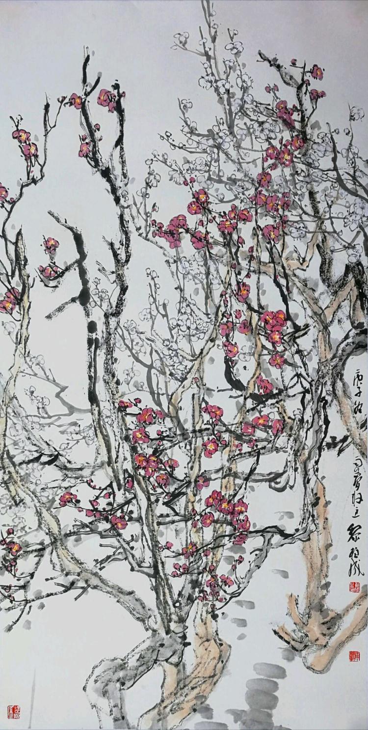 写意 永远的生命感觉——评黎柱成的中国画