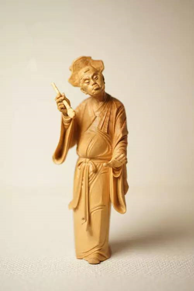 木头的生命艺术——品鉴林建军大师黄杨木雕刻作品《众生像》系列