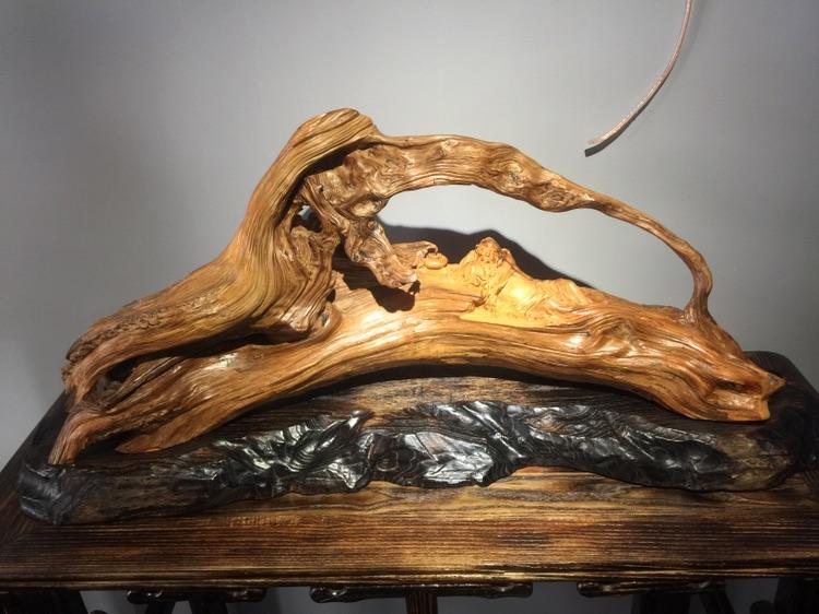 陈炉钢根雕作品欣赏