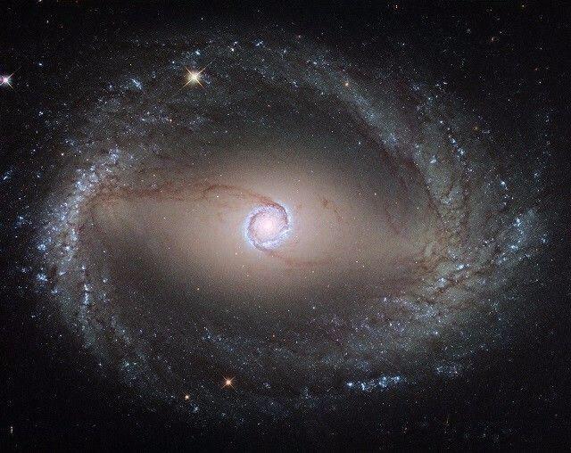 在遥远星系的中心 是谁画了个神奇的圆圈?