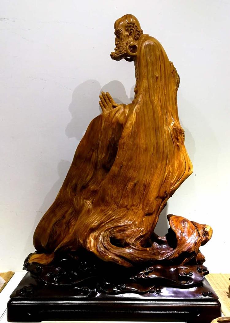 崖柏根雕作品欣赏
