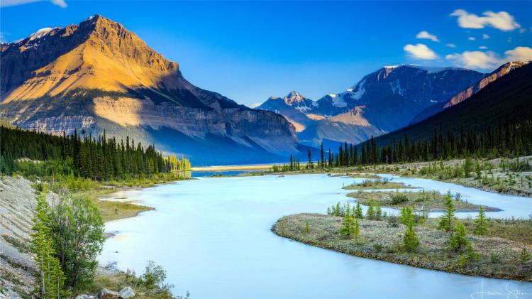 山河湖海唯美风景