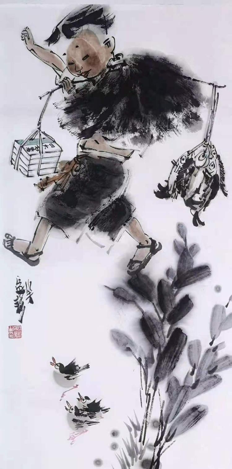 感受王家训中国画的文化智慧和快乐