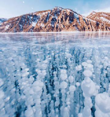 冬天的贝加尔湖   Kristina Makeeva