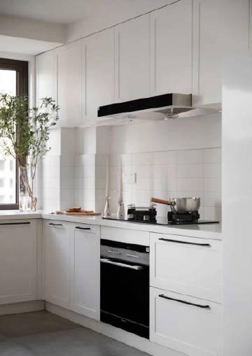 130㎡理想家,中西厨+7.2米超长台面,通透舒适,这才是北欧风!