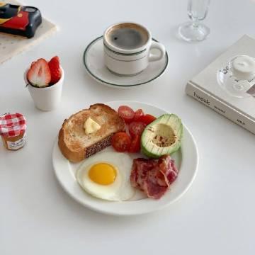 今日份元气早餐🥑🍳✨