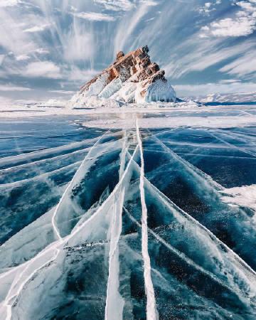 冬天的贝加尔湖 | Kristina Makeeva