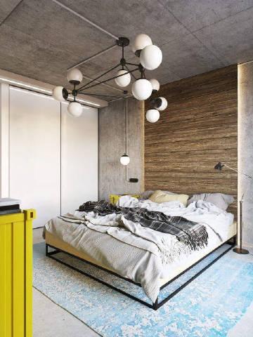 现代潮流风格卧室设计