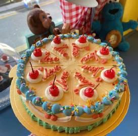 复古奶油蛋糕