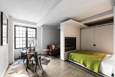36㎡小公寓,五脏俱全。