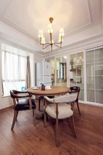 98㎡简约美式风格家居装修设计案例,色调柔和又舒适温馨!