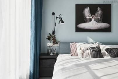 蓝色系北欧风家居 #家居装修#