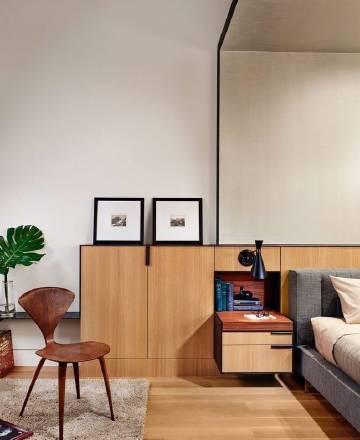 温馨雅致的现代风家居设计。