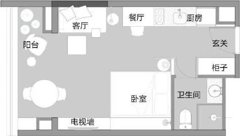 给我这29㎡谁还住出租屋#涨知识# #家居装修#