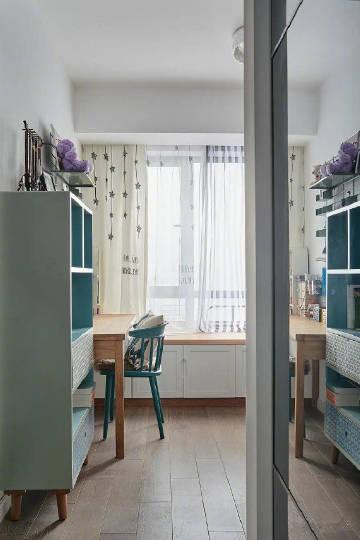 160㎡三口之家,木色打造强大收纳空间。#装修这件事#