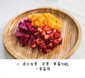 【双皮奶】可口嫩滑的双皮奶,步骤简单,喜欢什么水果都可以随意添加哦~