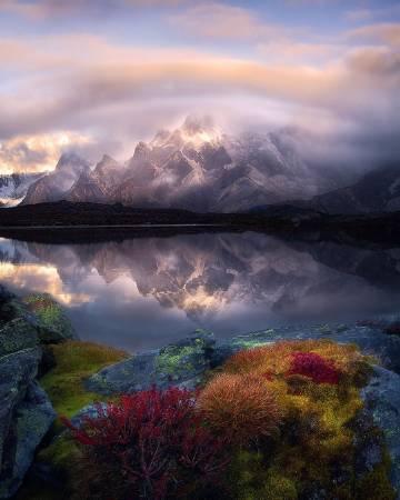 摄影师卡卡Kaka镜头下的祖国山河⛰️#何君尧登长城#