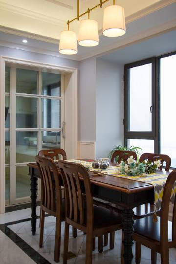 120平美式风格,低调内涵的家居生活~