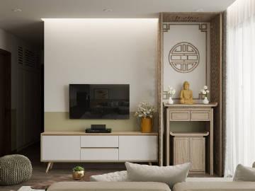 清新舒适的家居设计 。