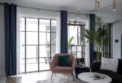 135平北欧风三居室,格调满满~#家居装修#