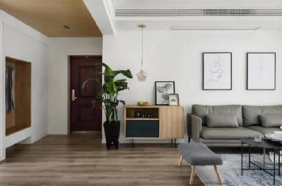 99㎡两居,质感又舒适~ #家居装修#