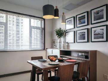 现代简约三居室,温暖自然~