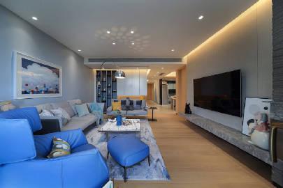 147平现代简约风,精致典雅,温馨舒适。 #家居装修#