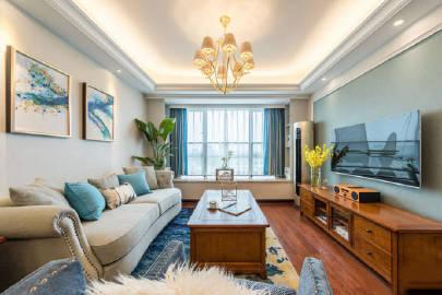 89平米美式 #家居装修#
