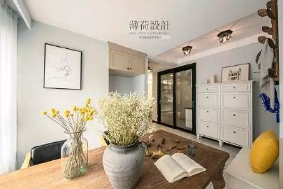 158㎡现代台式+经典美式 #家居装修#