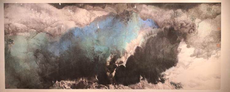 雨过天青——宋雨桂艺术大展今日在广东美术馆隆重启航
