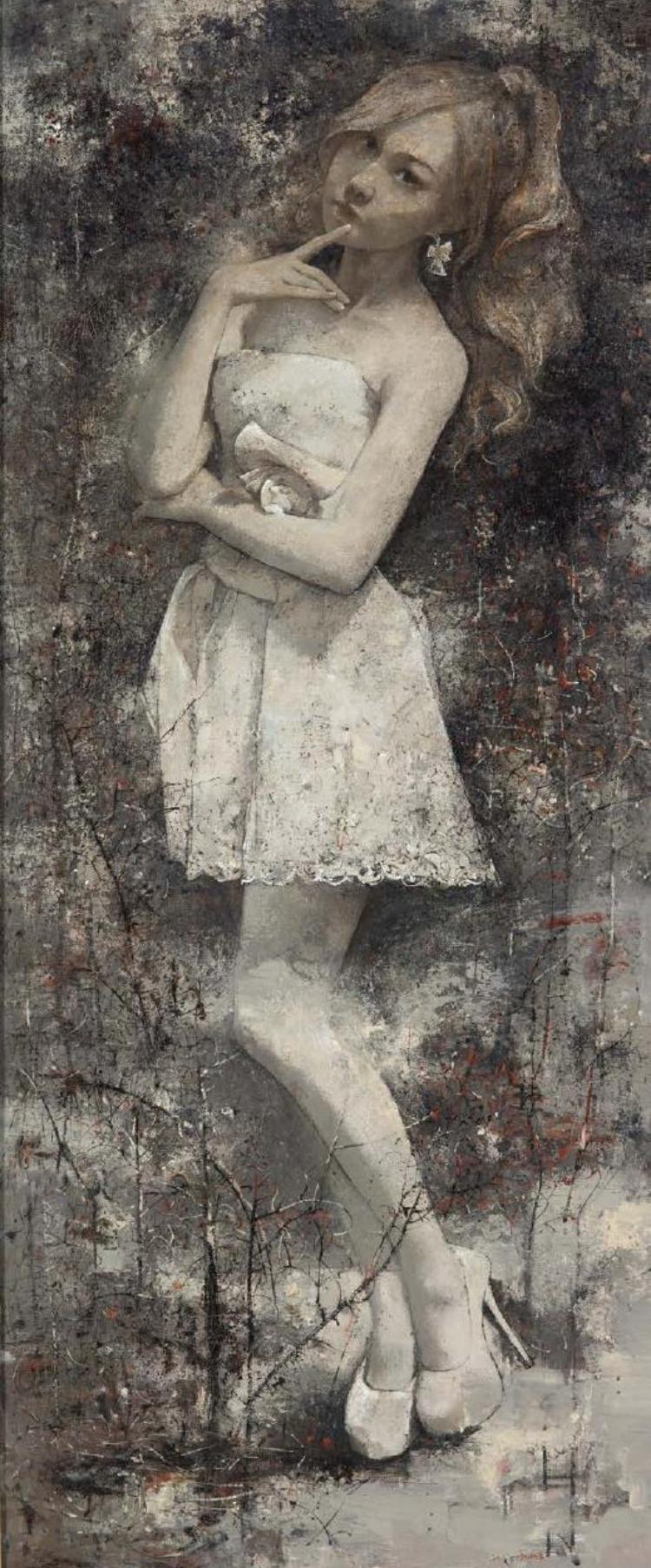 周作俊油画:诗意的典雅